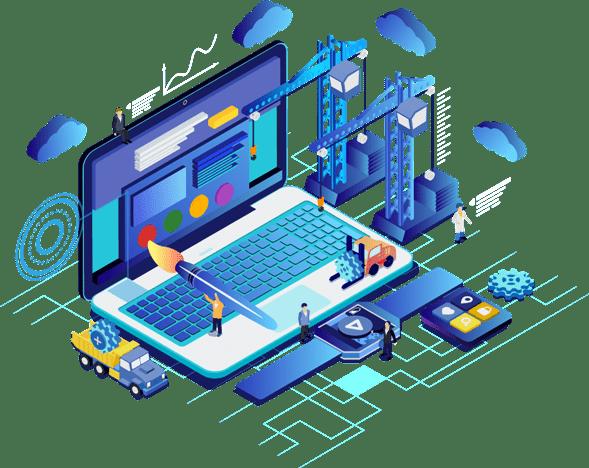 Website Design in Vapi Valsad Daman Silvassa By Website Designer of Web Development Company Weblatic -